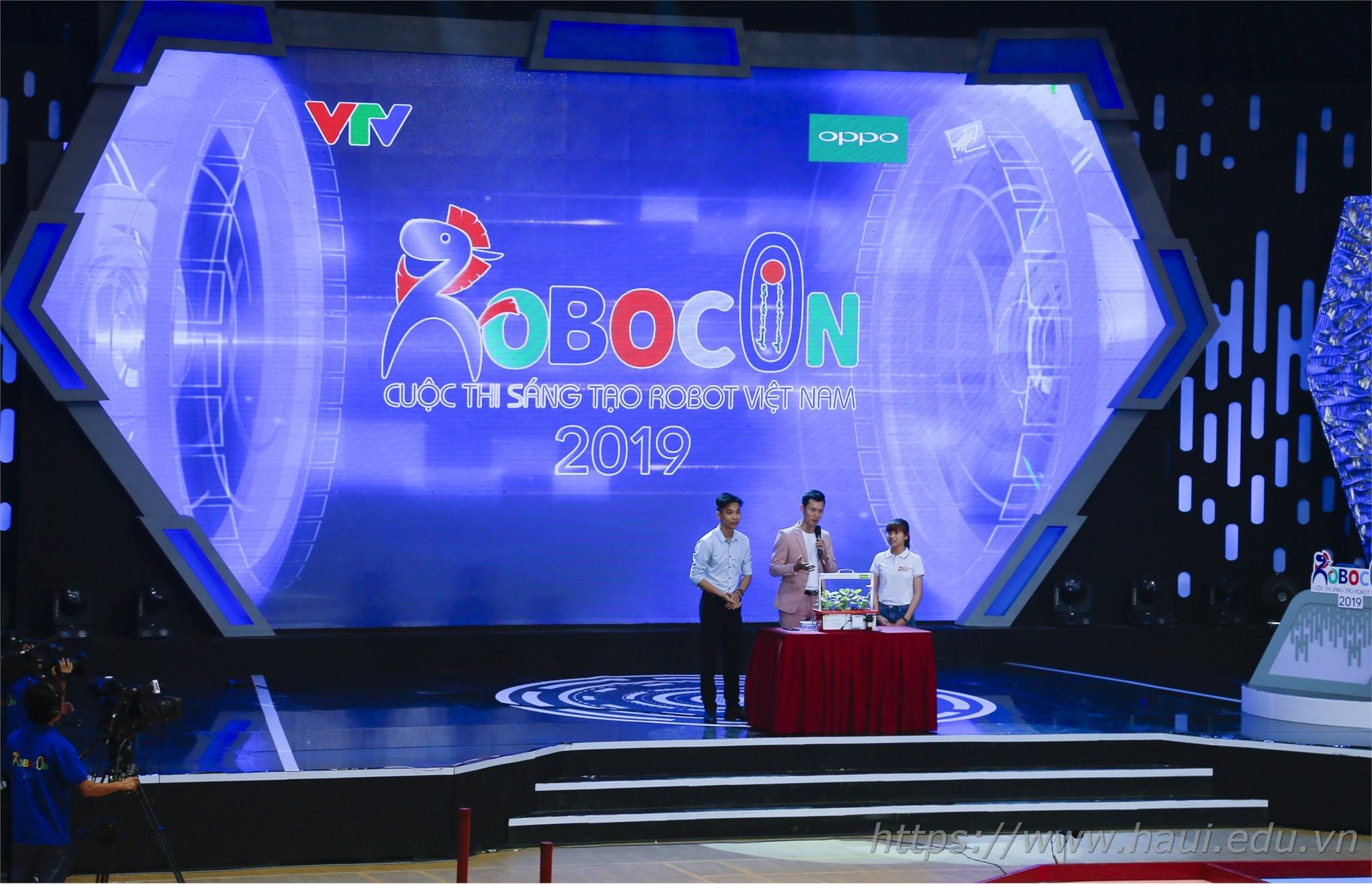 Đề tài được mời trình bày tại phần Techshow - cuộc thi Robocon Việt Nam năm 2019
