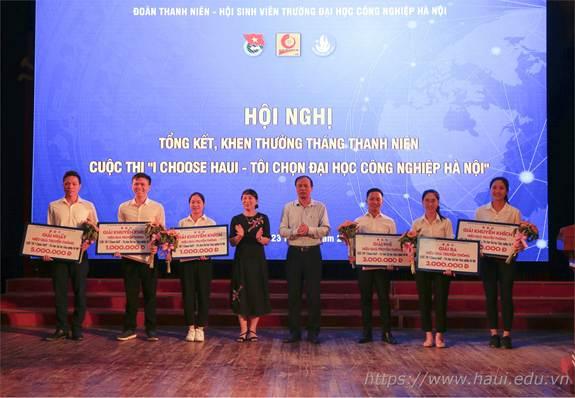 Liên Chi Đoàn khoa Điện đạt giải nhất bình chọn và hiệu quả truyền thông Cuộc thi I Choose HaUI