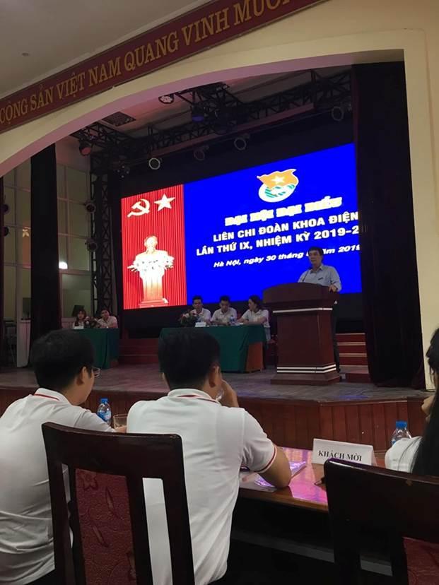 Đại hội đại biểu Liên Chi Đoàn khoa Điện lần thứ IX, nhiệm kỳ 2019 - 2022