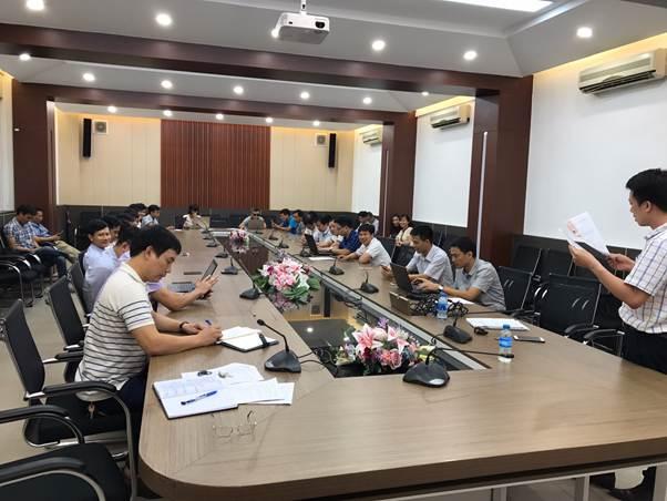 Chi bộ khoa Điện tổ chức sinh hoạt định kỳ tháng 6 năm 2019