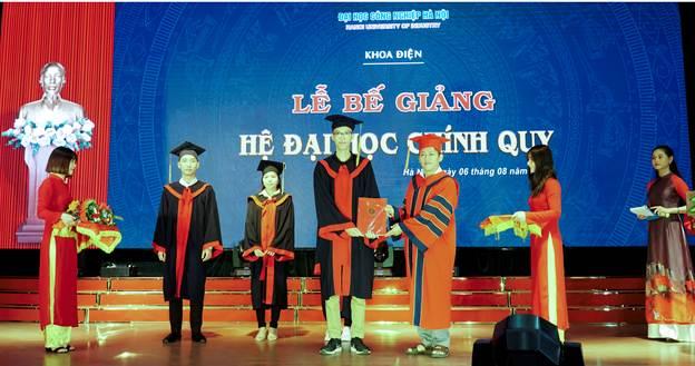 Bế giảng hệ đại học chính quy khóa 10 khoa Điện