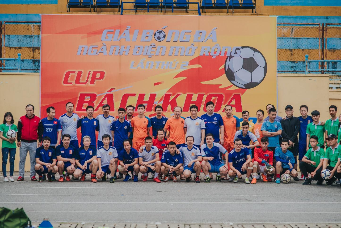 Giải bóng đá ngành Điện các trường đại học khu vực Hà Nội lần thứ II, 2019
