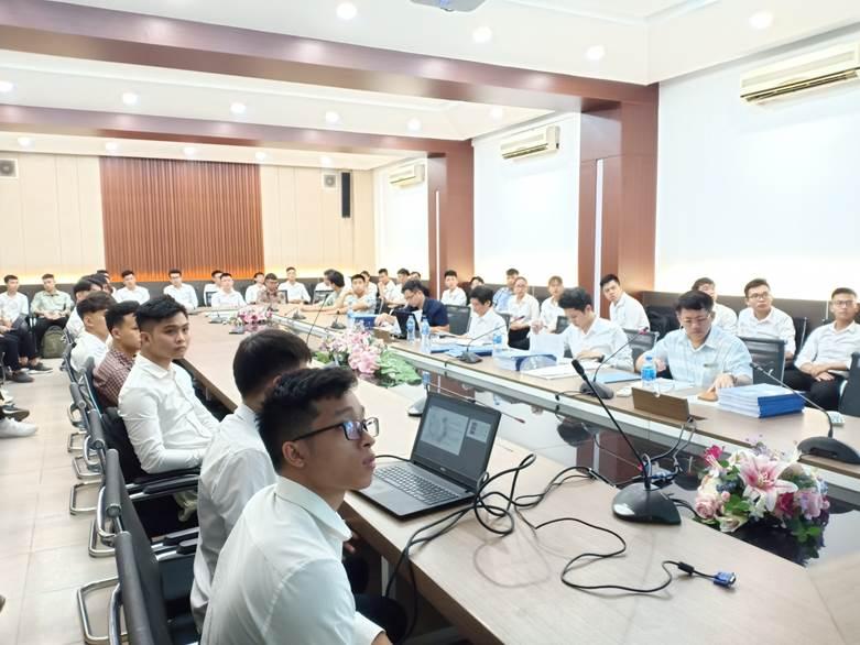 Nghiệm thu đề tài SVNCKH trường Đại học Công Nghiệp Hà Nội năm học 2019-2020 tại Hội đồng chuyên ngành Điện