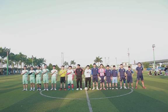 Chung kết và bế mạc giải bóng đá nam sinh viên khoa Điện 2018