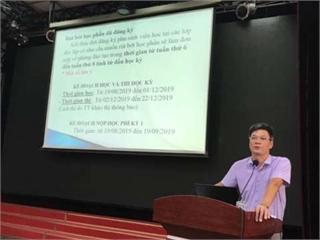 Khoa Điện tổ chức gặp mặt các lớp Đại học K13 chuyển từ Hà Nam về học tập tại cơ sở Hà Nội