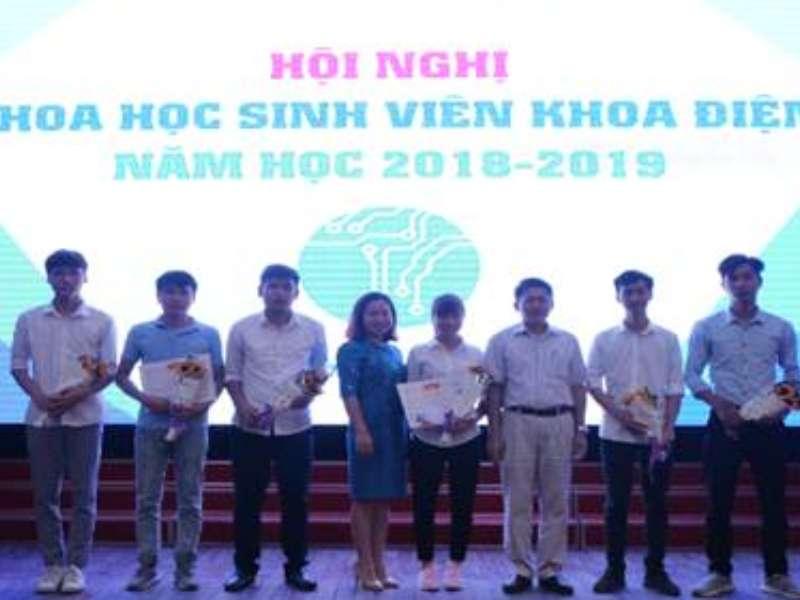 Hội nghị khoa học sinh viên khoa Điện năm 2019
