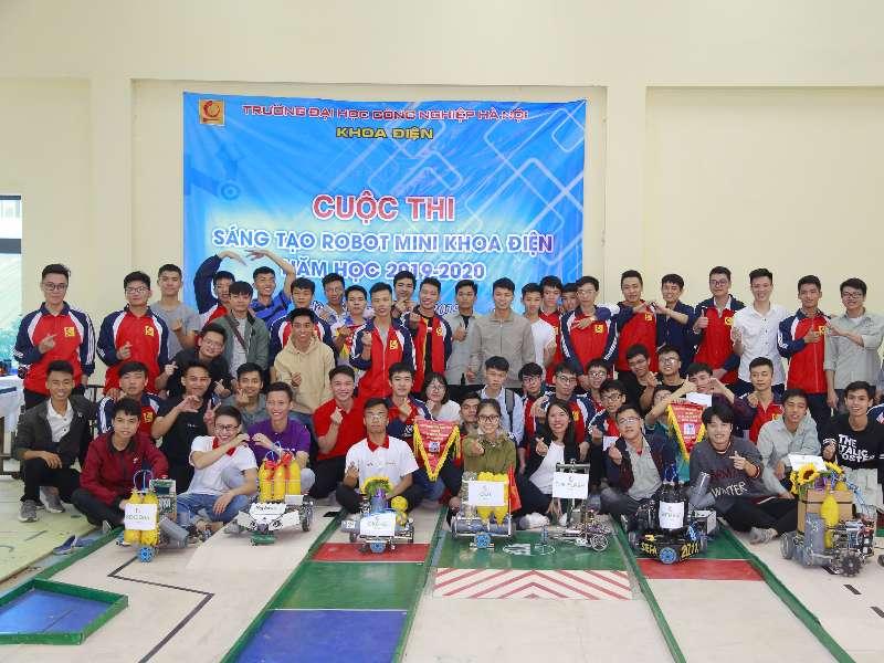 Chung kết cuộc thi sáng tạo Robot mini Khoa Điện 2019-2020